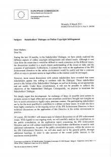 hadopi acta commission européenne FAI ayants droit