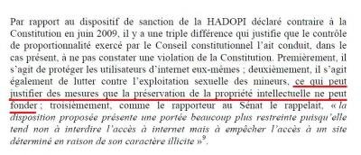 cahiers conseil constitutionnel LOPPSI