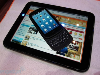 HP Pre3 smartphone TouchPad