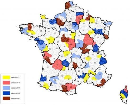 Arcep etude reseaux mobiles cantons 2007 2011