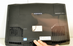 Alienware M17x temoin batterie