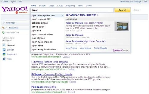 Yahoo Search Direct Japan