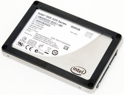 SSD 320 series 300 Go Intel