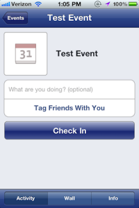 Facebook 3.4 pour iPhone