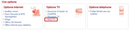 Multi-TV SFR
