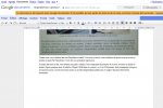 Google Docs import appareil photo