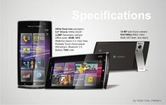 xperia leon wp8 concept