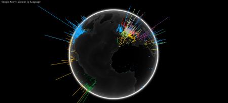 Google WebGL globe recherche