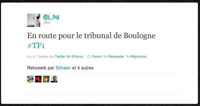 TF1 salarié viré