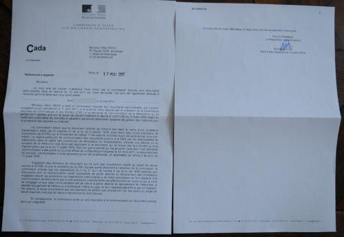 CADA CNIL hadopi avis décret PC inpact