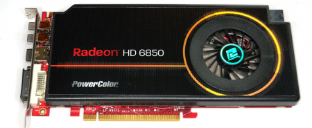 Powercolor Radeon HD 6850 single slot