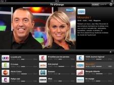 TV Orange iPad
