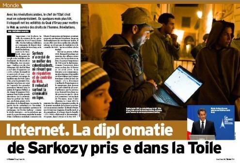 Marianne Sarkozy Kouchner Internet eG8