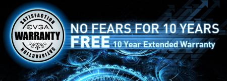 EVGA garantie 10 ans