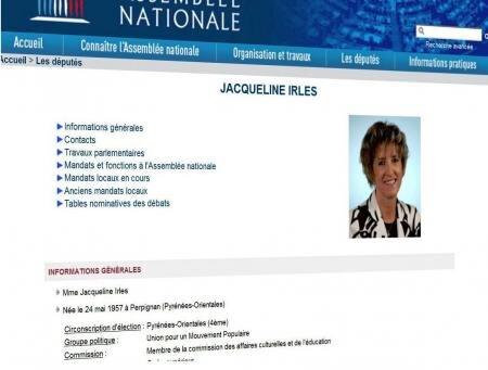 députée Jacqueline Irles UMP