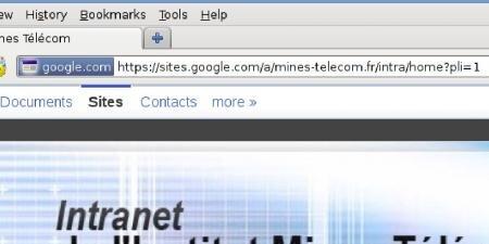 intranet google mines telecom