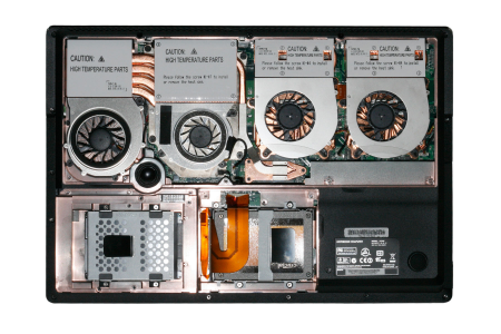Clevo X7200 interieur