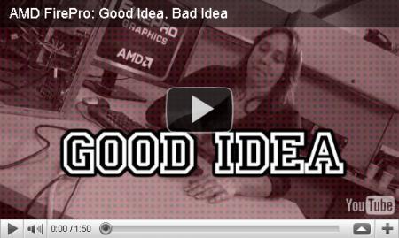 AMD mauvaise idée vidéo