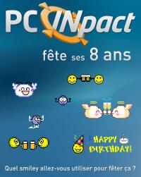PC INpact anniversaire 8 ans