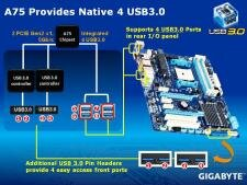 Gigabyte GA-A75-UD4H APU Llano A75