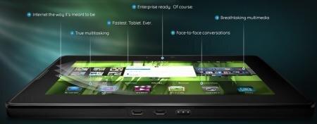 RIM BlackBerry PlayBook tablette tactile