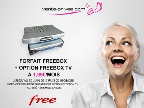 Vente privee Free