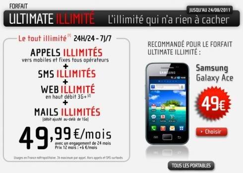NRJ Mobile forfait ultimate illimite