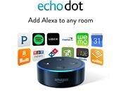 Enceinte connectée Echo Dot (3e génération) à 29,99 euros