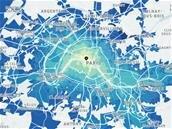 Temps de trajet moyens : Uber Movement est disponible à Paris