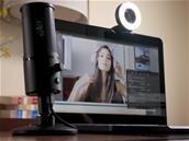 Webcam Kiyo avec lampe annulaire et micro à condensateur Seiren X chez Razer