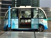 Une navette autonome Navya de retour dans les rues de Las Vegas