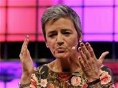 À Lisbonne, Margrethe Vestager tacle durement les géants du Net