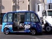 Las Vegas : la navette autonome Navya impliquée dans un accident, mais ne serait pas responsable