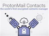 ProtonMail améliore ses applications mobiles et y ajoute les contacts chiffrés