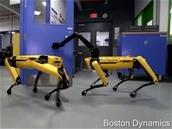 Le robot SpotMini de Boston Dynamics est capable d'ouvrir et de tenir une porte