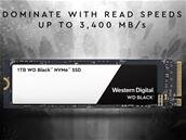 WD lance ses SSD M.2 Black 3D NVMe : jusqu'à 3,4 Go/s dès 0,44 dollar par Go