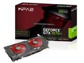 Carte graphique KFA2 GeForce GTX 1070 Ti EX 8 Go à 469,91 euros