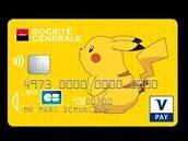 La Société Générale propose des CB avec Pikachu