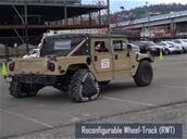 Ground X-Vehicle de la DARPA : roues reconfigurables, fenêtres virtuelles, réalité augmentée