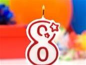 8.8.8.8 a fêté ses 8 ans, 8 mois, 8 jours et 8 heures