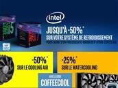 Jusqu'à 50% de remise sur votre refroidissement pour l'achat d'un CPU Intel« K »