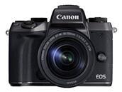 Hybride Canon EOS M5 (24,2 Mpx) avec 18-150 mm à 799,96 €