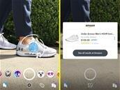 Depuis la caméra de Snapchat, cherchez des produits sur Amazon