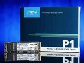 SSD M.2 Crucial 500 Go P1 (NVMe, 2 Go/s) à 59,90 euros