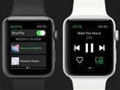 Spotify est enfin disponible sur l'Apple Watch, le mode hors ligne arrivera plus tard