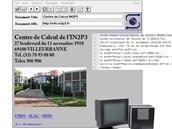 Le CNRS explique « comment le premier site web français a vu le jour » à l'IN2P3