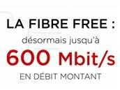 Free pousse l'upload jusqu'à 600 Mb/s pour tous ses abonnés fibre