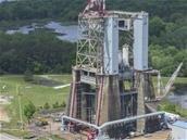 Partenariat commercial entre Blue Origin et la NASA autour d'un banc de test pour moteurs