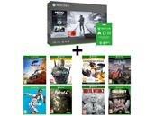 Console Xbox One X 1 To avec 10 jeux pour 499 euros