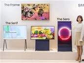 """Samsung The Sero : une TV de 43"""" avec une dalle pivotable en mode portrait"""